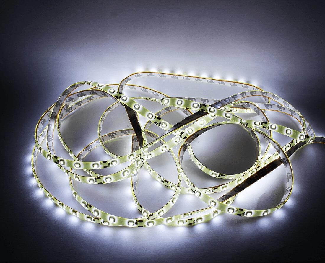 Белая светодиодная лента 5м., фото 2