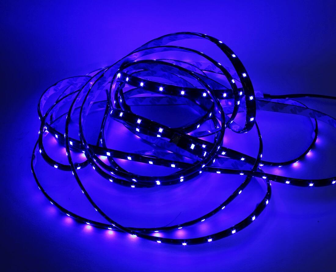 Синяя светодиодная лента 5м., фото 2
