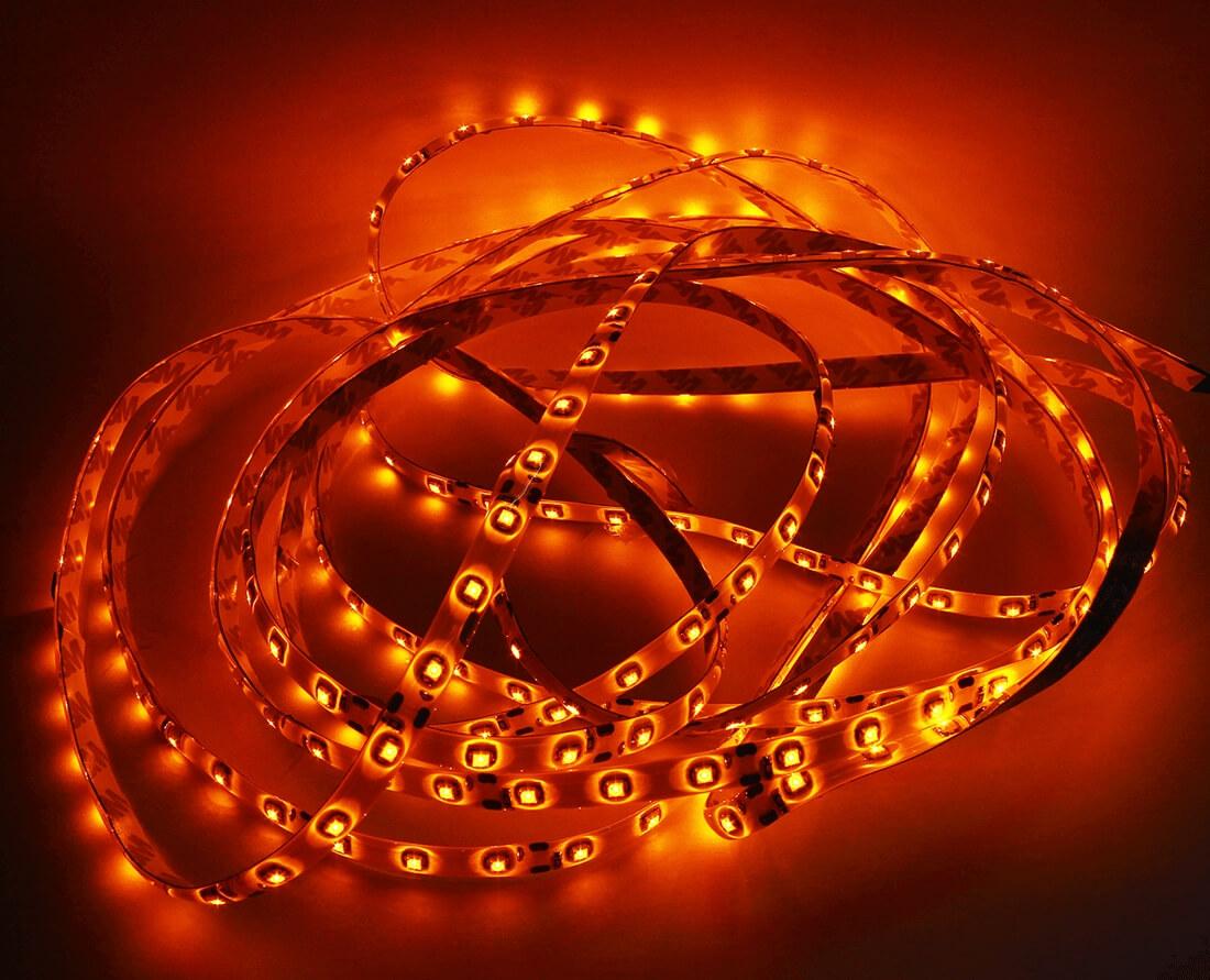 Красная светодиодная лента 5м., фото 2