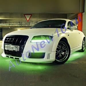 Зеленая светодиодная лента 5м.