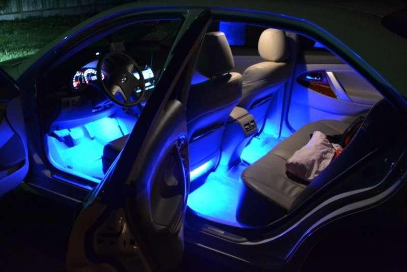 Атмосферная подсветка салона, фото 3