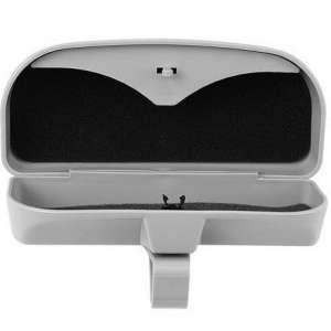 Футляр для очков в автомобиль (очечник) Серый