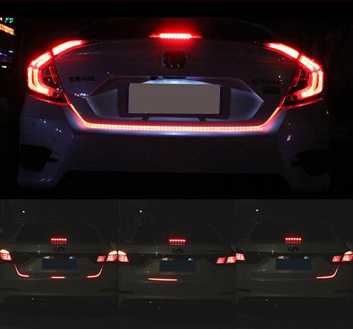 Динамическая подсветка двери багажника (120см)