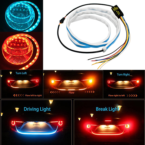 Динамическая подсветка двери багажника (120см), фото 7