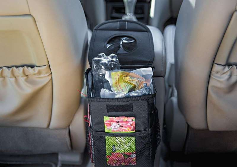 Органайзер-мусорка в автомобиль