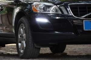 Дневные ходовые огни Volvo XC60 (2008 – 2013) (без хром окантовки)