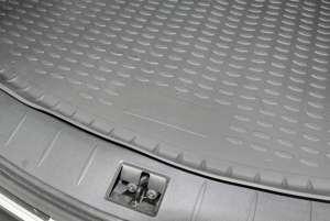 Коврик в багажник SSANG YONG Actyon 2006->, внед., черный