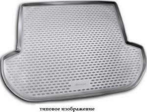 Коврик в багажник LEXUS LX 570 2007-2012, 2012->,  внед. 7 мест, кор., серый