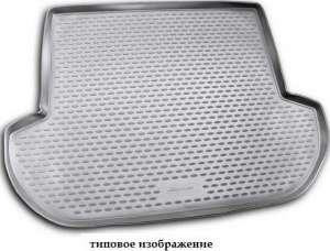 Коврик в багажник LEXUS RX350 2003-2009, кросс., серый