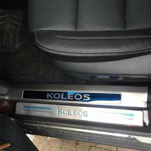 Накладки на внешние пороги Renault Koleos 2017+