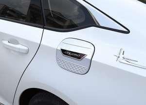 Накладка (пластиковая) на крышку бензобака Honda Accord X (2017+)