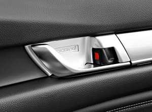 Накладки в ниши под внутренние ручки Honda Accord X (2017+)