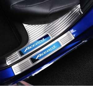 Накладки на внутренние пороги Honda Accord X (2017+)