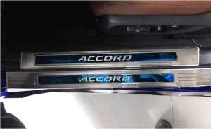Накладки на внешние пороги Honda Accord X (2017+)