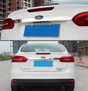 Молдинг на багажник (верхний) Ford Focus (2015-2017) (седан)