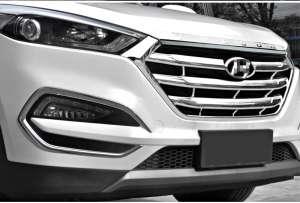 Накладка на капот Hyundai Tucson (2015+)