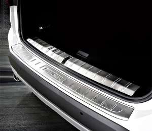 Внутренняя накладка на бампер BMW X1 (2015+)