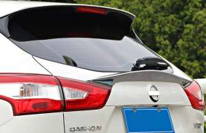 Хром спойлер на багажник Nissan Qashqai  J11