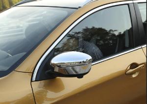 Накладки на зеркала заднего вида Nissan Qashqai (2014-2017)