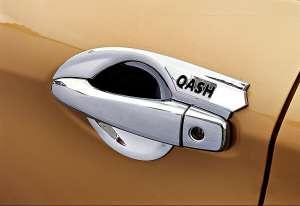 Накладки на ручки Nissan Qashqai J11