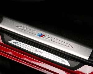 Накладки на внутренние пороги BMW 1 серия (2017+)