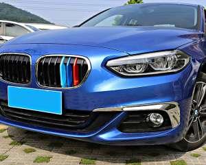 Накладки на решетку радиатора BMW 1 серия (2017+)