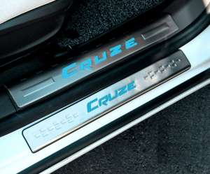 Накладки на пороги Chevrolet Cruze 2015+