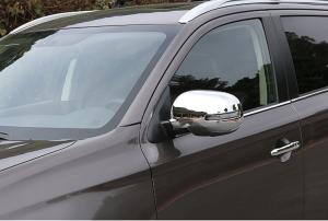 Накладки на зеркала заднего вида Mitsubishi Outlander (2015-2017)