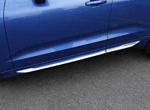 Молдинги на двери Volvo XC60 2018+