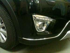 Дневные ходовые огни Mazda CX-5 (2011-2015) (Хром)