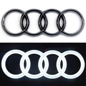 4D светящийся шильдик Audi