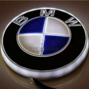 4D светящийся шильдик BMW