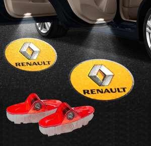 Штатная подсветка дверей Renault Koleos 2016+