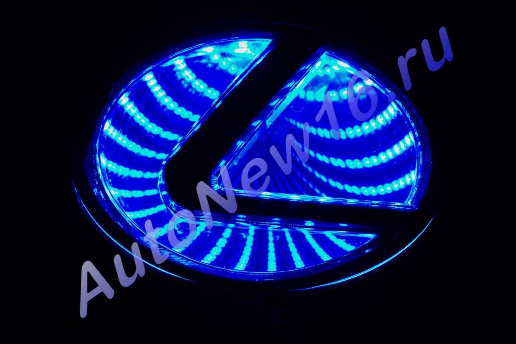 Шильдик с подсветкой Lexus
