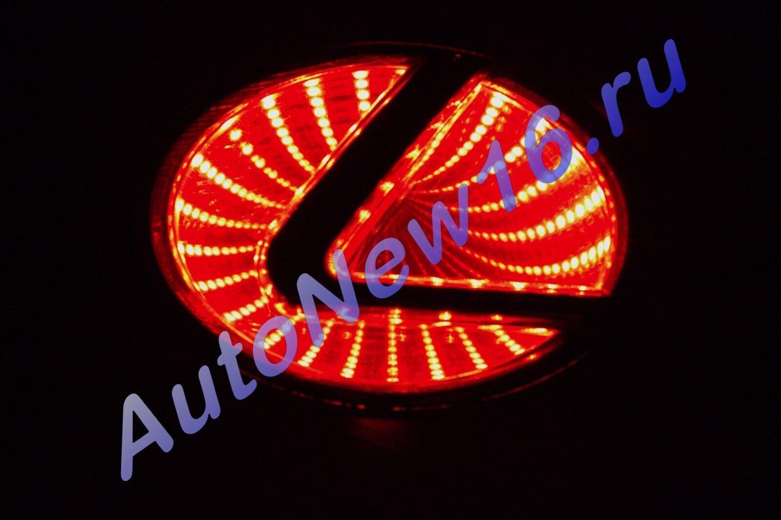 Шильдик с подсветкой Lexus, фото 2
