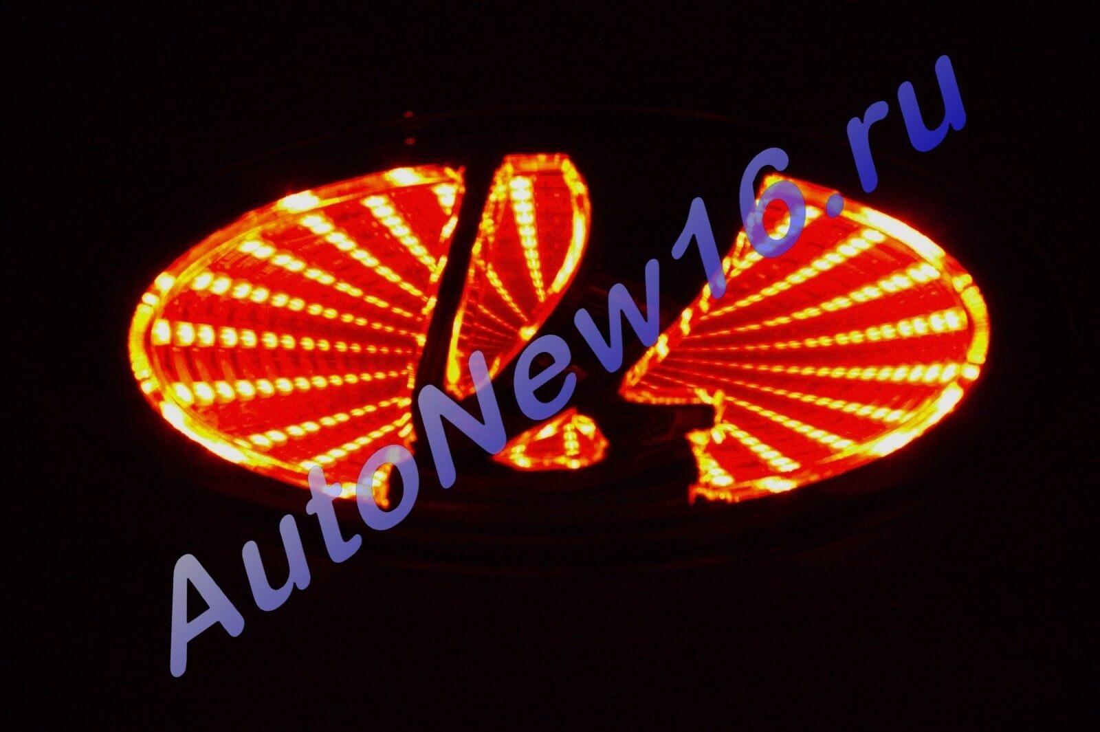 Шильдик с подсветкой Lada, фото 2