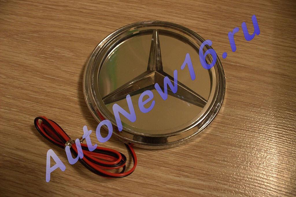 Шильдик с подсветкой Mercedes, фото 3