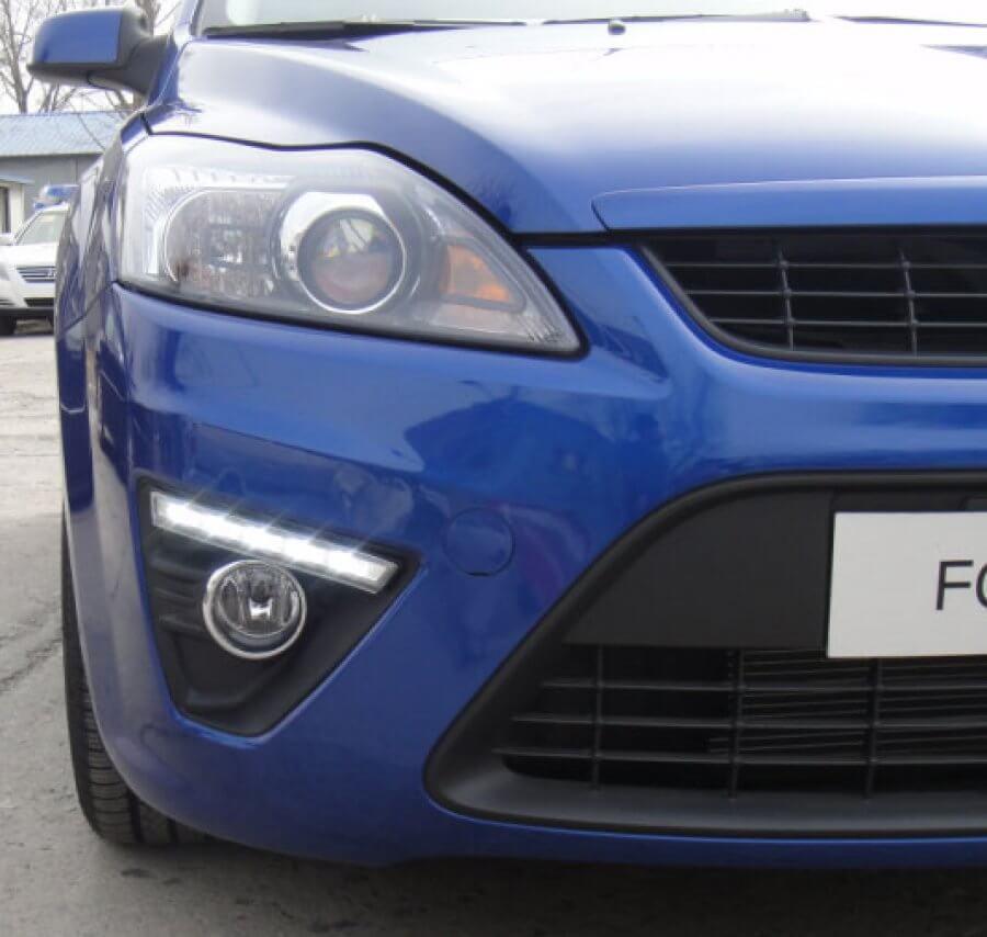 Дневные ходовые огни Ford Focus 2 Hatchback
