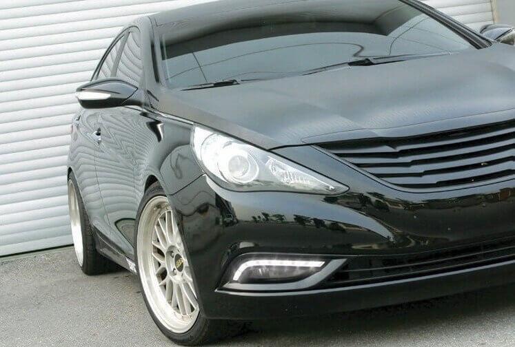 Дневные ходовые огни Hyundai Sonata 6