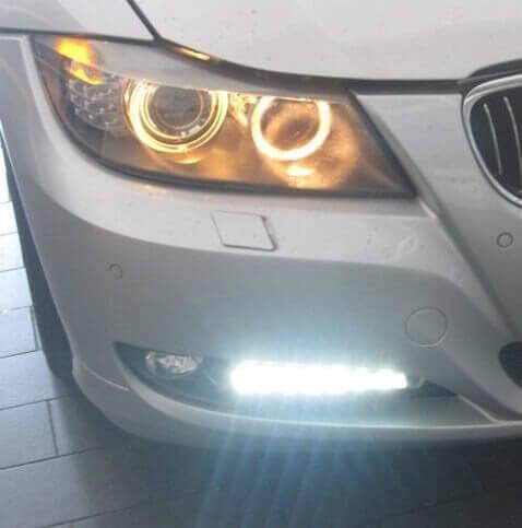 Дневные ходовые огни BMW 3 (E90-E93 pecтайлинг)