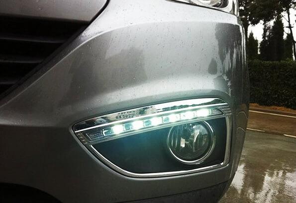 Дневные ходовые огни Hyundai IX35 2010+