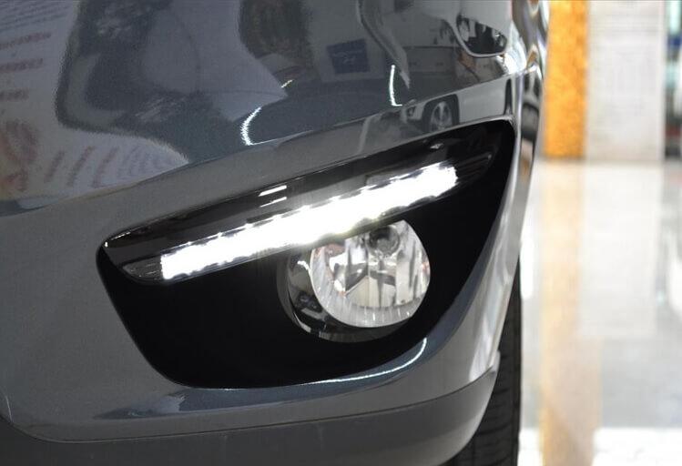 Дневные ходовые огни Hyundai Santa Fe IX45 II