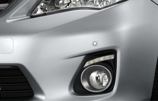Дневные ходовые огни Toyota Corolla (E140/E150)