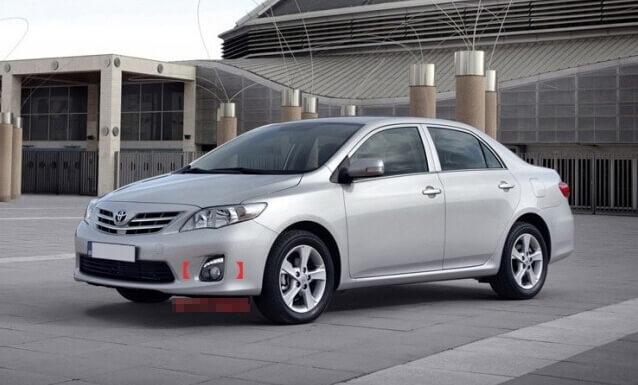 Дневные ходовые огни Toyota Corolla (E140/E150), фото 11