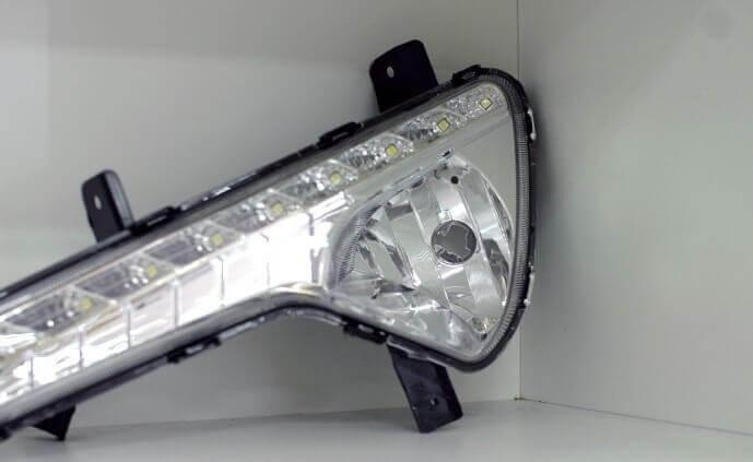 Дневные ходовые огни Kia Sportage 3, фото 11
