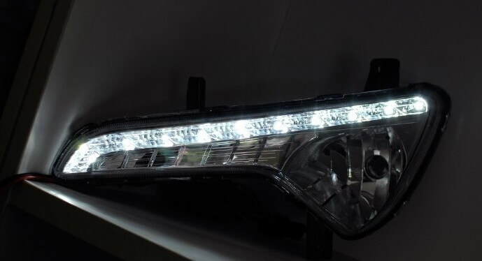 Дневные ходовые огни Kia Sportage 3, фото 14