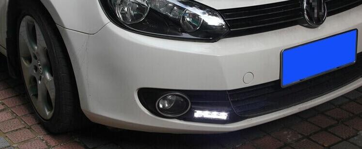 Дневные ходовые огни VW Golf 6
