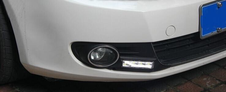 Дневные ходовые огни VW Golf 6, фото 8