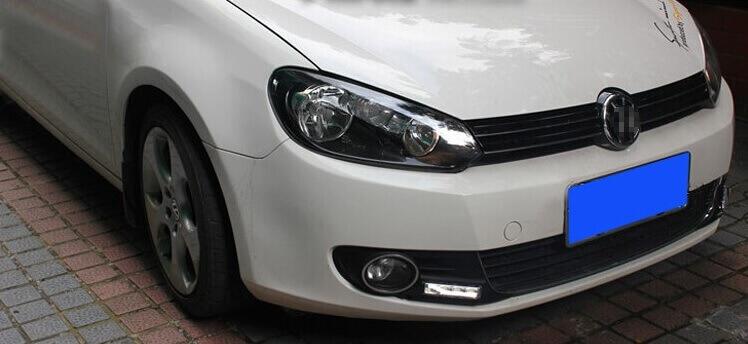 Дневные ходовые огни VW Golf 6, фото 9