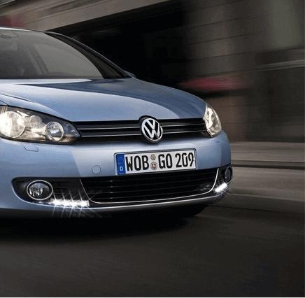 Дневные ходовые огни VW Golf 6, фото 10
